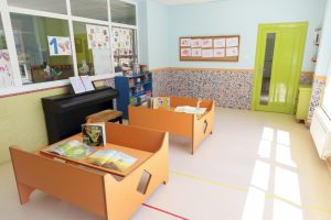 Aula de cuentos y música de la Escuela Infantil Booma