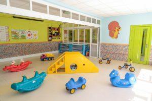 Juegos del aula polivalente de la Escuela Infantil Booma