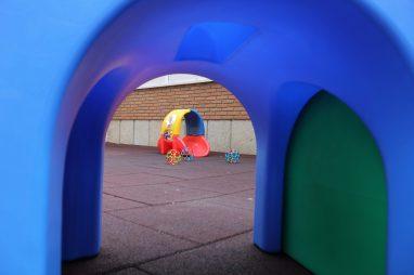 Patio para bebés de la Escuela Infantil Booma de Talavera de la Reina