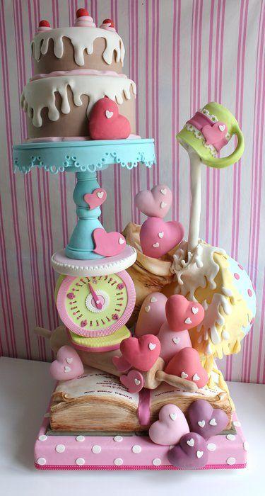 tortas hechas de tortas