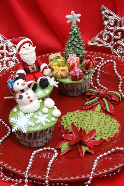 cupcakes de navidad 3