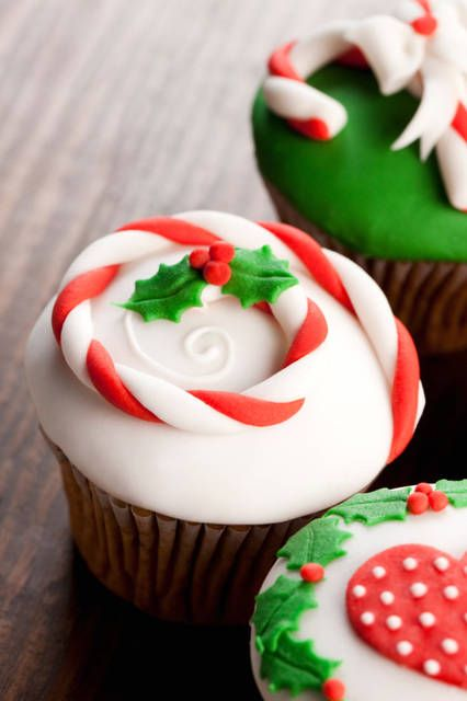 cupcakes de navidad 4