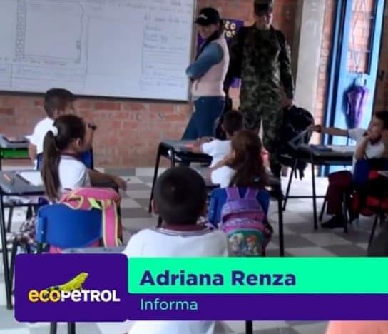 (Español) Ecopetrol fortalece el Programa Escuela Nueva en El Putumayo