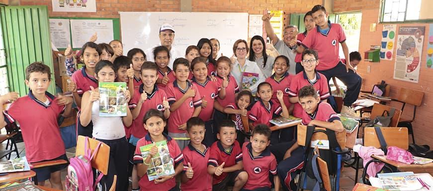 Se inició la entrega de 4.200 cartillas para beneficiarios del modelo multigrado Escuela Nueva