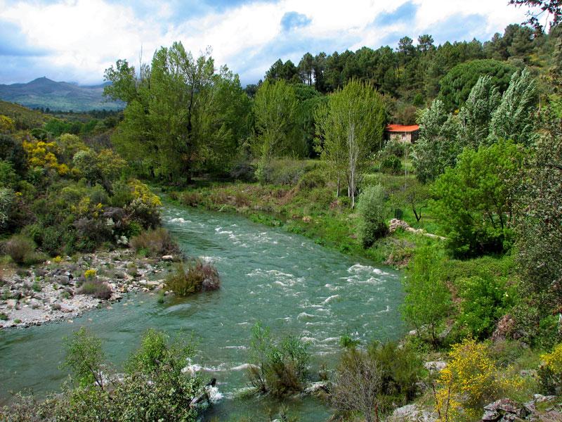 Sierra de Gata, río Árrago