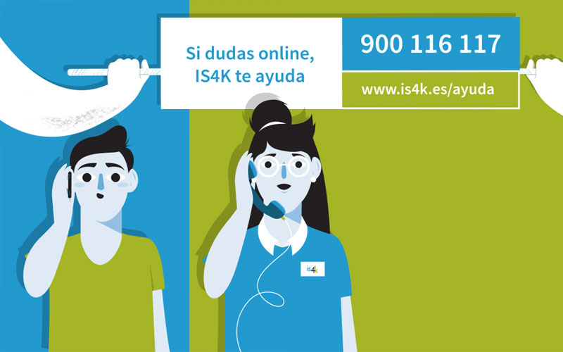 Nueva linea de teléfono IS4K