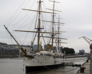 Fragata Sarmiento, in Puerto Madero