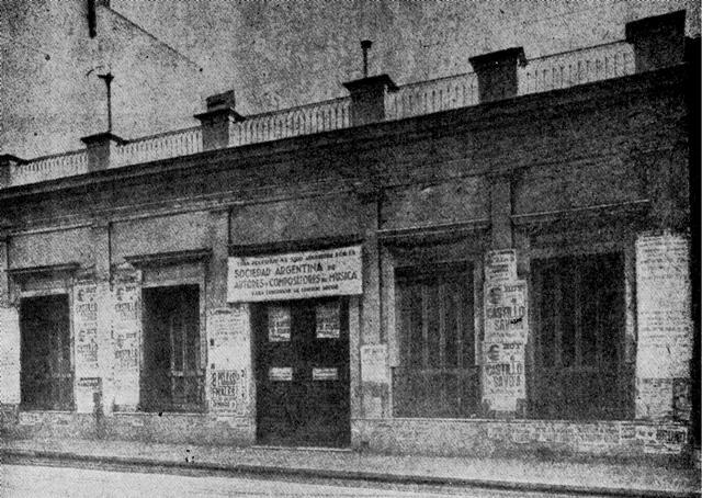 SADAIC-foto-casa en Lavalle 1547, anterior al 4 de mayo de 1940 que se inaugura la nueva Sede - copia