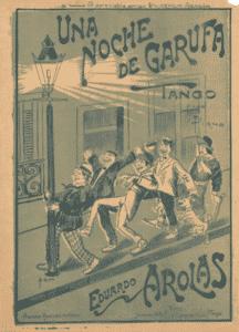 Una noche de garufa, Eduardo Arolas. History of Tango. By Marcelo Solis. Escuela de Tango de Buenos Aires