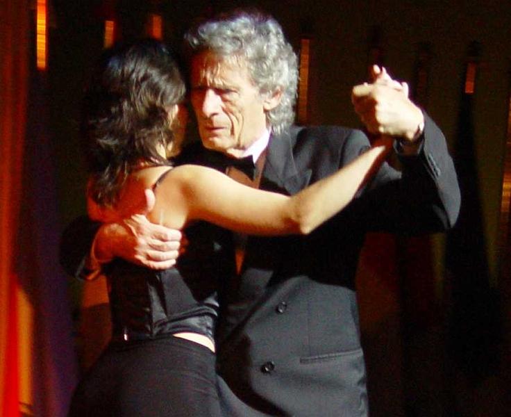 Alberto Dassieu. Maestro milonguero. Escuela de Tango de Buenos Aires.