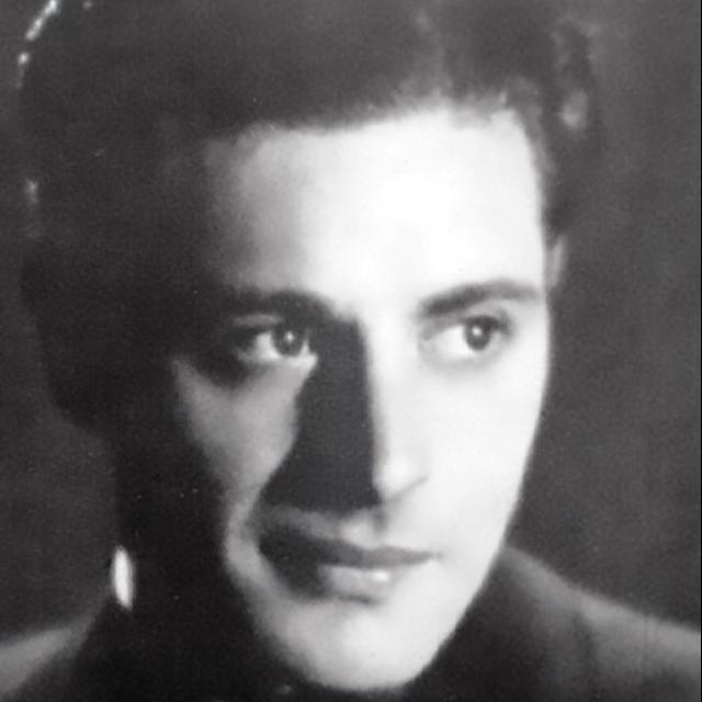Alberto Echagüe, Argentine Tango singer and lyricist.