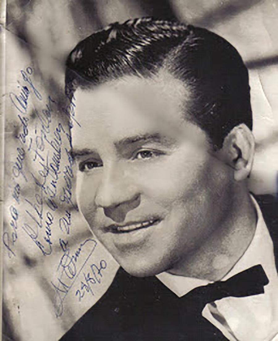 "Alberto Marino, ""The Golden voice of Tango"""