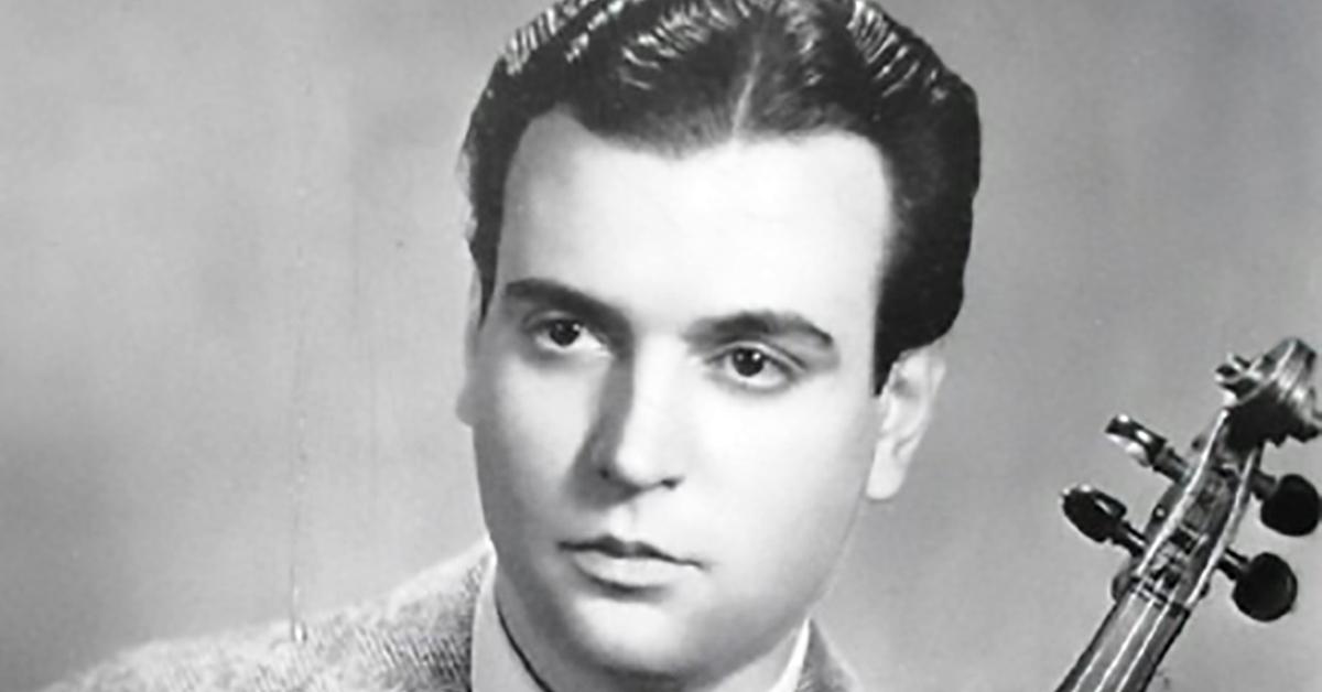 Alfredo Gobbi, Argentine Tango musician, leader and composer.