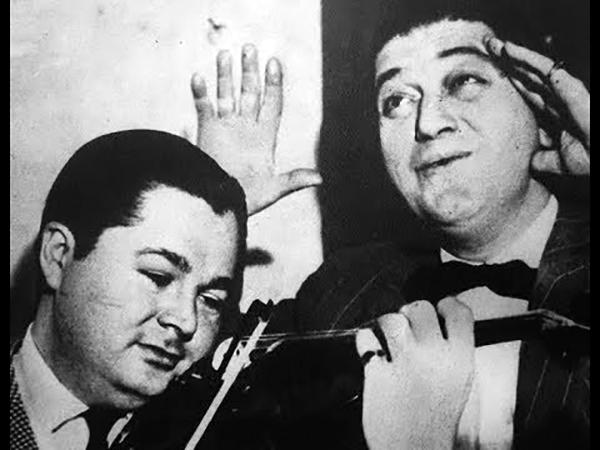 Anibal Troilo & Francisco Fiorentino, Argentine Tango music.