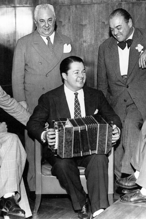 Anibal Troilo, Argentine Tango musician, leader, and composer.
