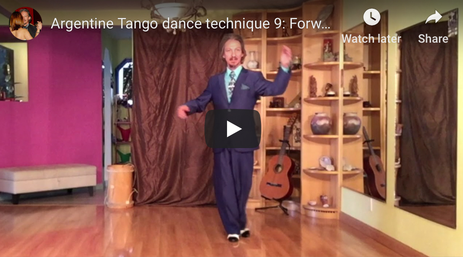 Argentine Tango Technique 9: Forward ochos with Marcelo Solis.