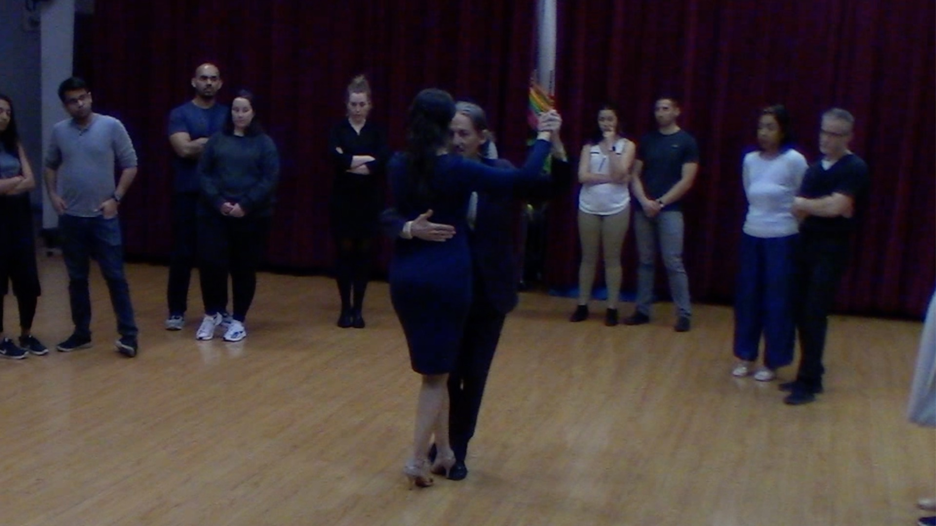 Argentine Tango beginner class with Mimi: systems, final review