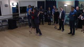 Argentine Tango beginner class with Miranda- musicality explanation