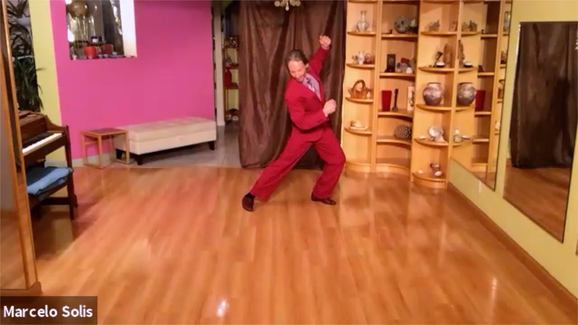 Argentine Tango class: backward ochos sequence
