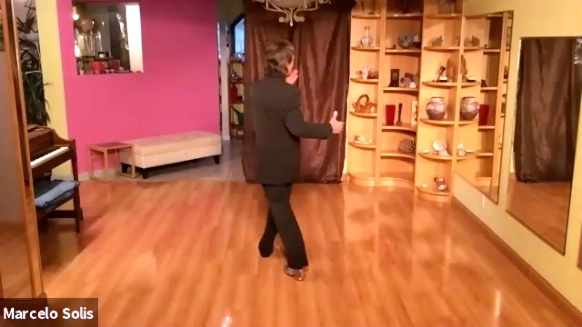 Argentine Tango class: forward-backward move sequence