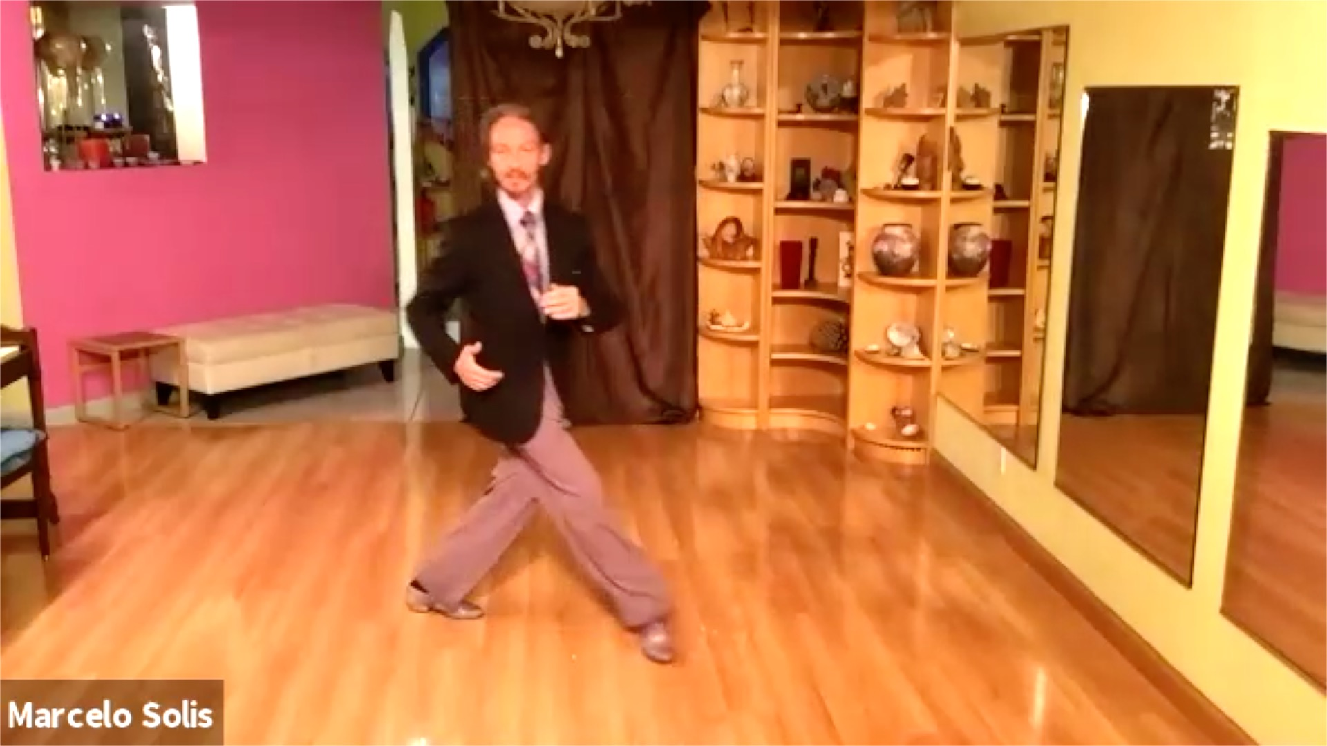 Argentine Tango class: ochos exercise by Marcelo Solis