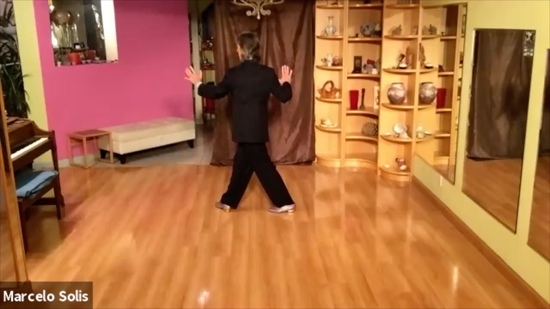 Argentine Tango class: sequence continuation (4)
