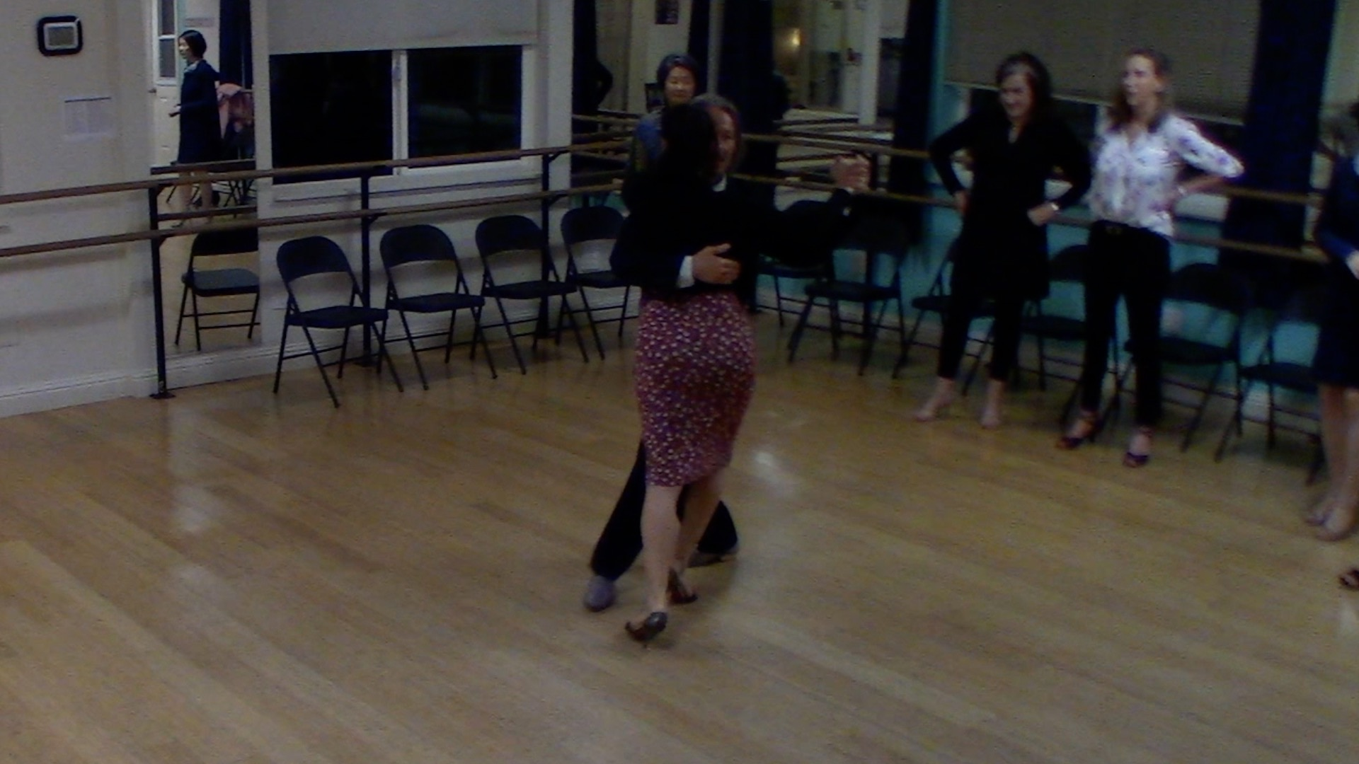 Argentine Tango intermediate class: inverse ocho sequence