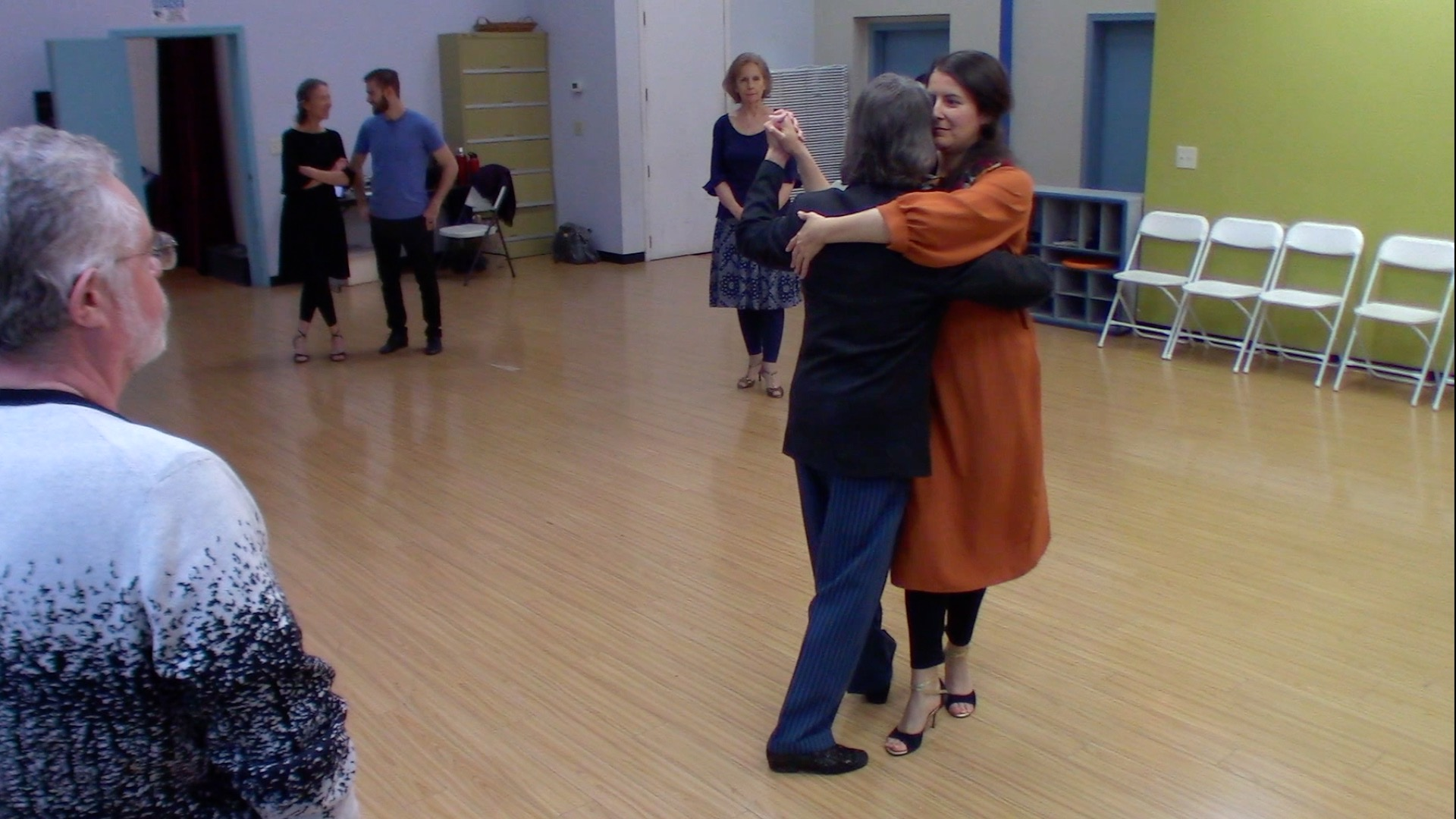 Argentine Tango intermediate class with Mimi: elements for dancing at milongas 3