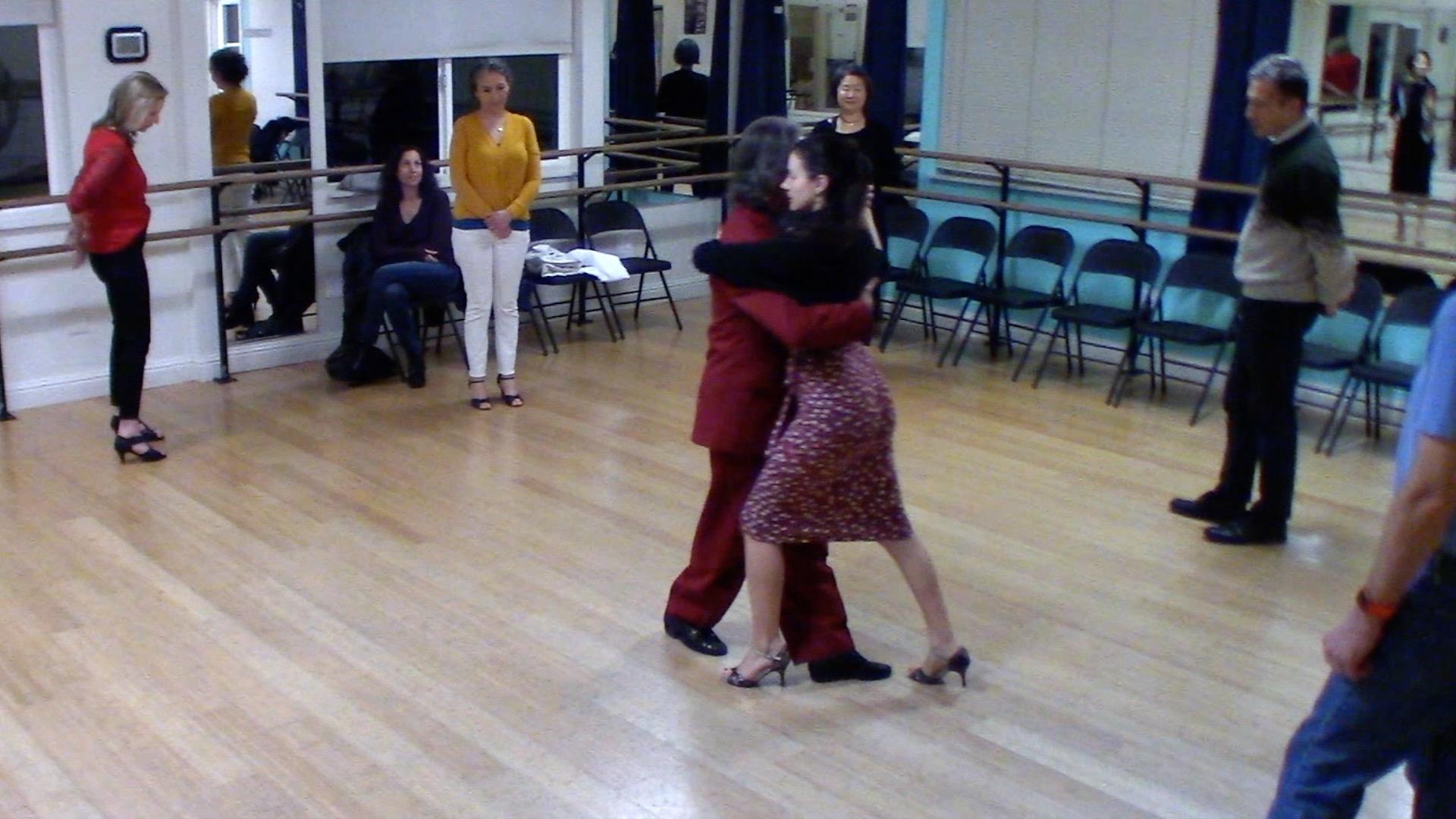 Argentine Tango intermediate class with Miranda: changing systems