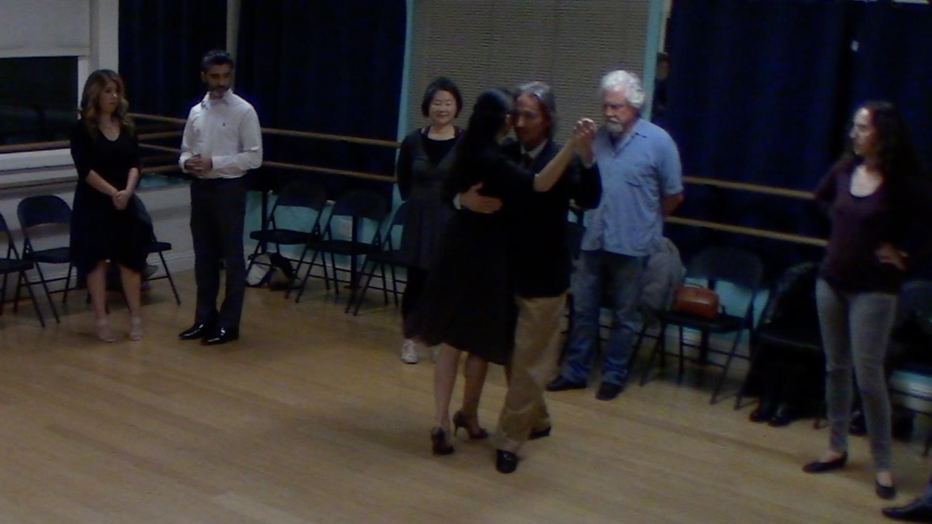 Argentine Tango intermediate class with Miranda: elements to move on the dance floor of milongas