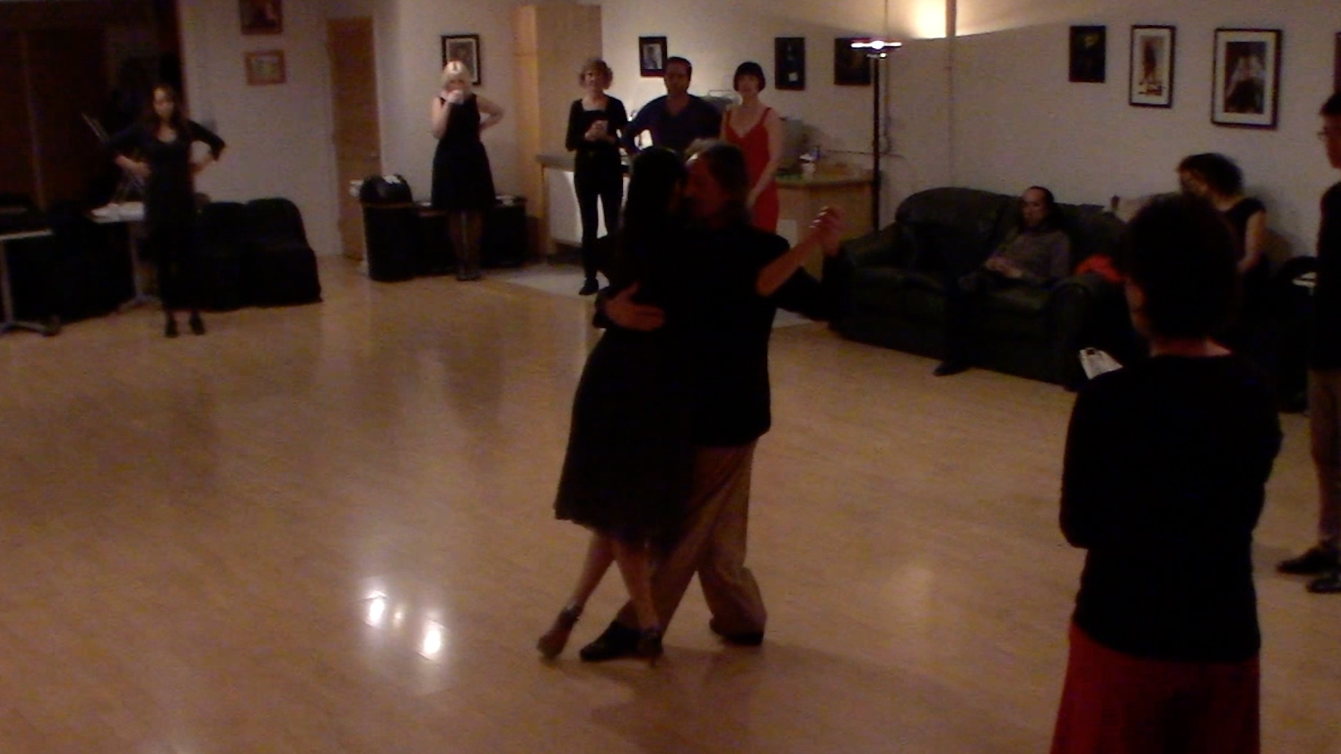 Argentine Tango intermediate class with Miranda: useful elements to dance at milongas final review