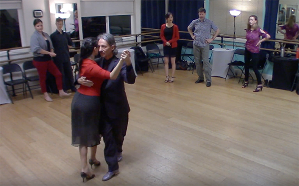 Argentine Tango intermediate class with Miranda_ final review
