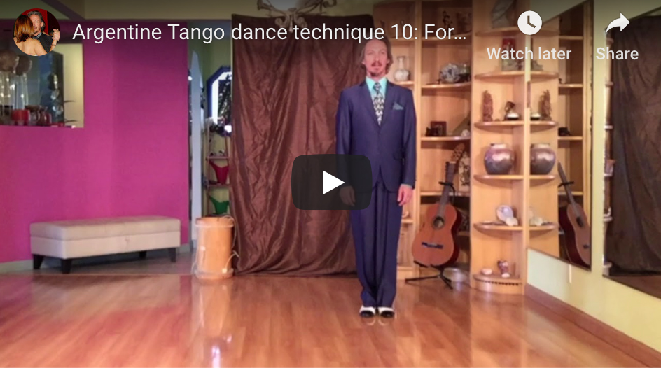 Argentine Tango technique 10 with Marcelo Solis. Learn to dance.