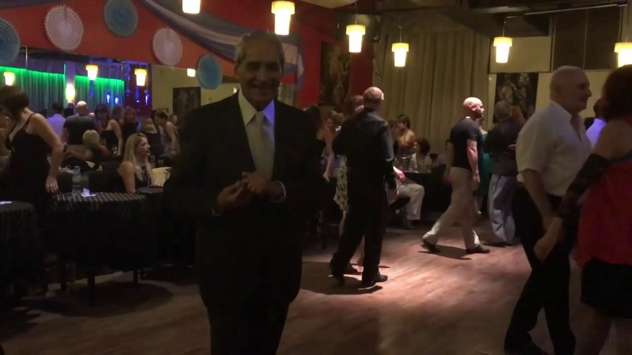 Milonga at El Beso. Escuela de Tango de Buenos Aires trip.
