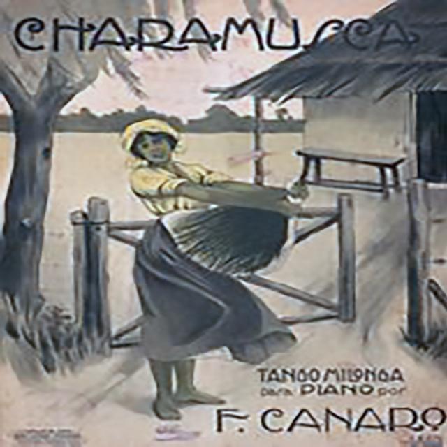 """Charamusca"", Argentine Tango music sheet cover."