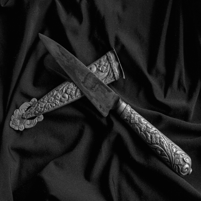 Compadrito's knife of the history of Argentine Tango.