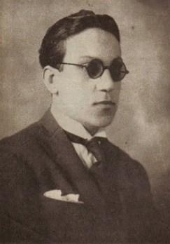 Carlos Di Sarli young. Argentine music at Escuela de Tango de Buenos Aires.