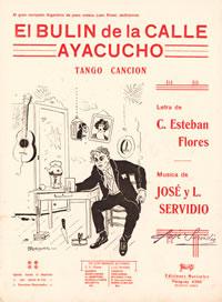 El bulín de la calle Ayacucho. Argentine music at Escuela de Tango de Buenos Aires.