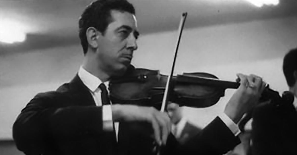 Emilio Balcarce, Argentine Tango musician, leader and composer.
