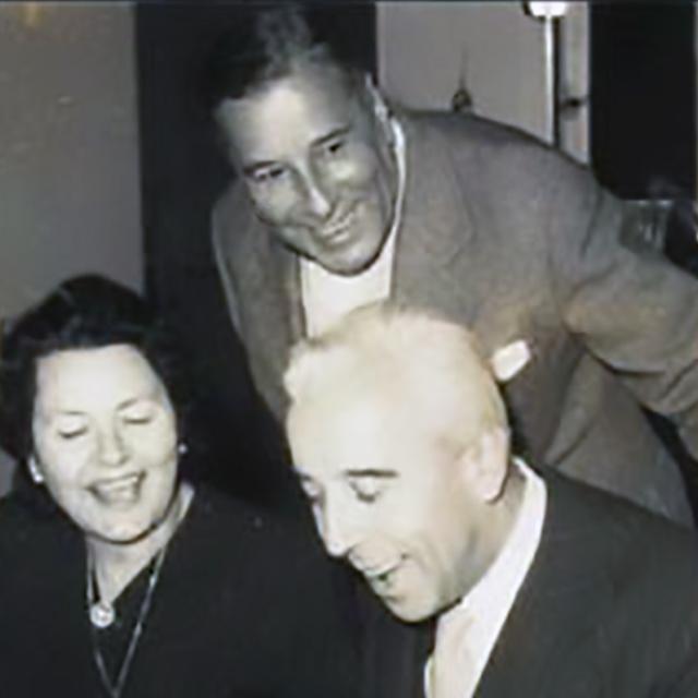 Emilio and Osvaldo Fresedo, argentine Tango musicians, lyricists, leaders and composers.
