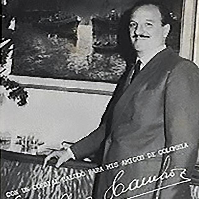 Enrique Campos, Argentine Tango singer and composer.