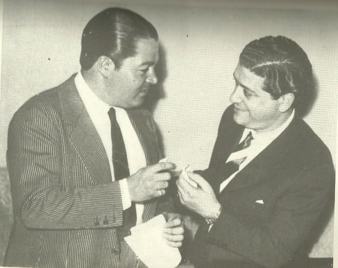 Anibal Troilo and Francisco Fiorentino. Argentine tango music.