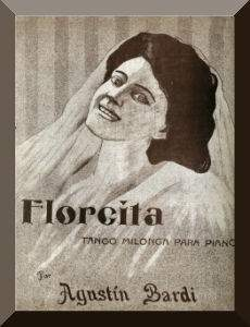 Florcita, composed by Agustín Bardi, interpreted by Lucio Demare y su Orquesta Típica in 1945.