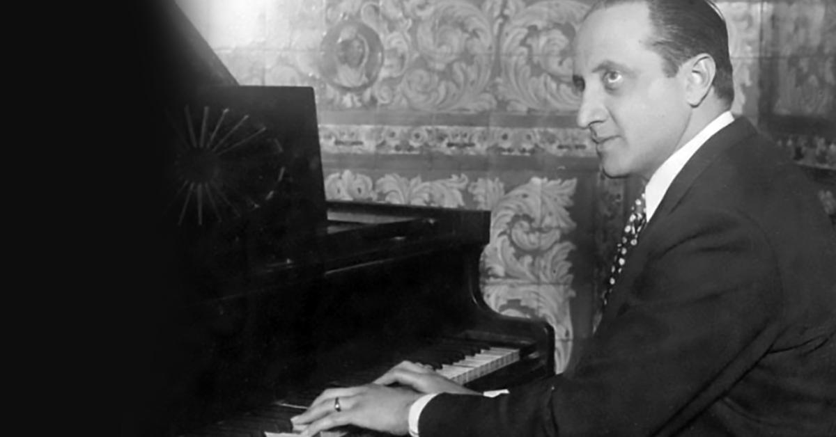 """Gerardo Matos Rodriguez, author of the famous Argentine Tango """"La Cumparsita"""""""