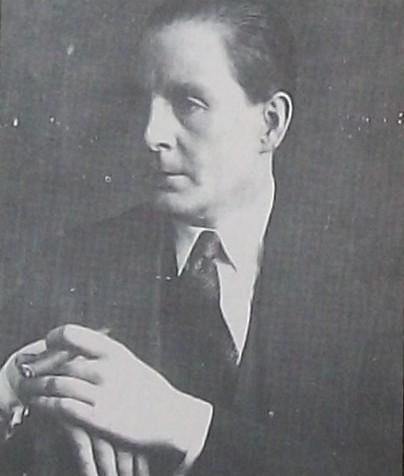 "Héctor Pedro Blomberg, Lyricist, author of ""Rosa Morena"" milonga."
