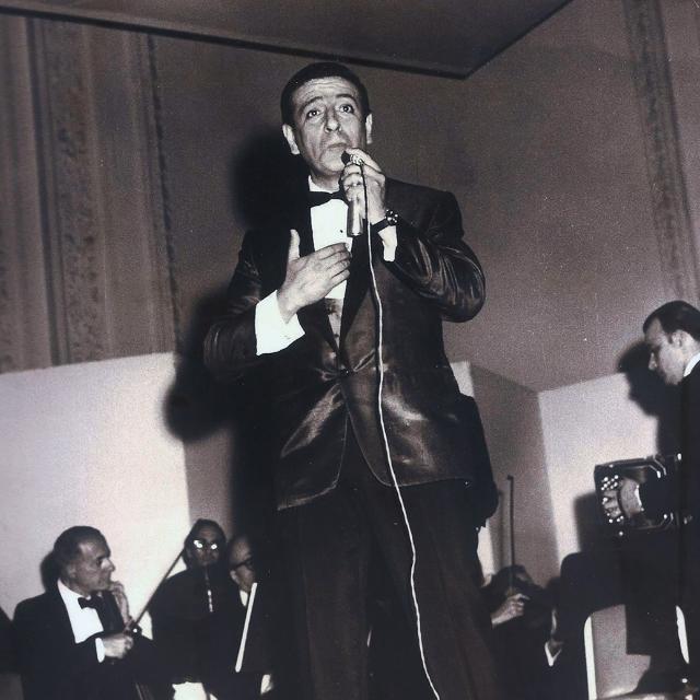 Jorge Vidal, Argentine Tango singer.