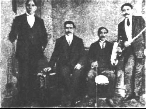 Juan Maglio Pacho y su orquesta. Argentine music at Escuela de Tango de Buenos Aires.
