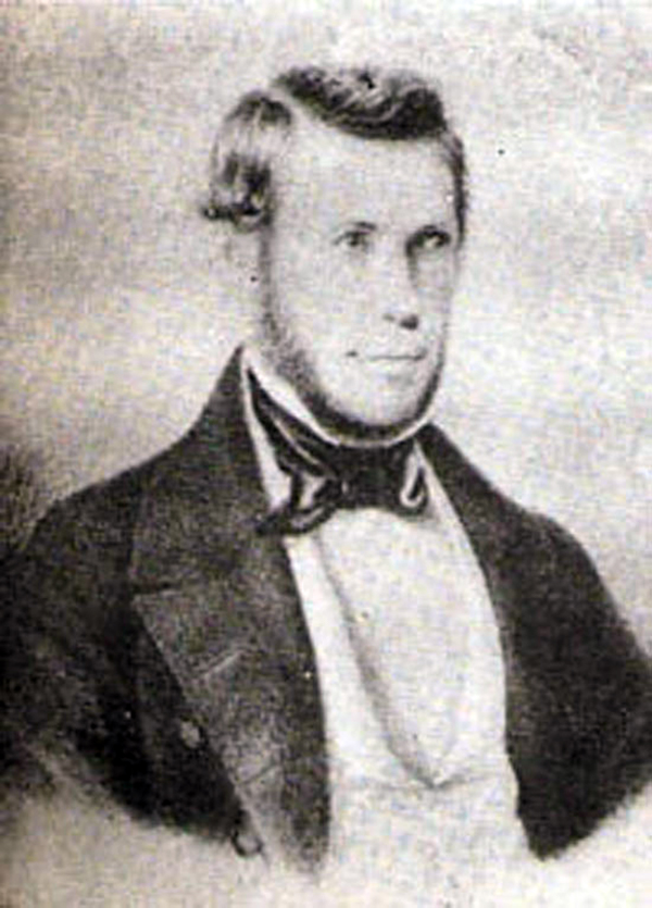 Juan María Gutiérrez, portrait. Argentine Tango.