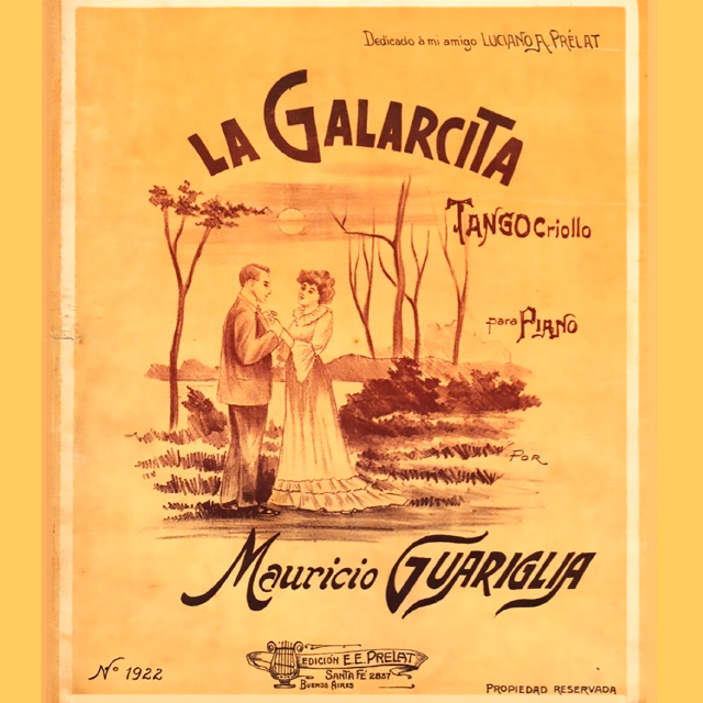 La Galarcita, Argentine Tango music sheet cover.