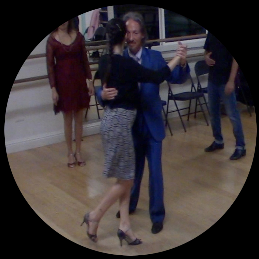 Marcelo Solis and Miranda Lindelow teaching Argentine Tango online